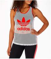 adidas Women's Originals Colorado Mesh Tank, White
