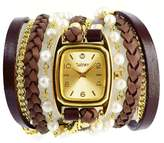 Winky Designs Freshwater-Pearl Wrap Watch