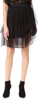Rodarte Lace Tiered Wrap Skirt