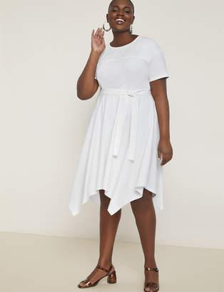 Handkerchief Hem Tee Dress