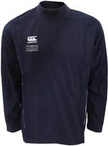 Canterbury of New Zealand Mens Team Water Resistant Long Sleeve Rugby Contact Top (M) (Navy/White)