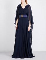 Alberta Ferretti Grecian-style silk gown