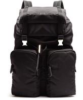 Prada Large top-flap nylon backpack