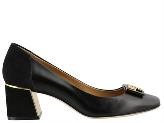 Tory Burch Gigi Rounded-Toe Pumps