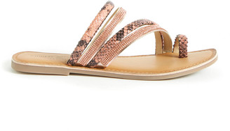 Chinese Laundry Gold Solar Strappy Sandal Gold 6.5