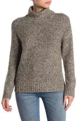 Olivia Sky Marled Turtleneck Sweater
