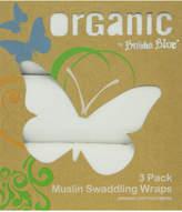Bubba Blue Organic Cotton Muslin Wraps 3 Pack