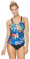 Next Tropic Fusion Third Eye 2 Shirr Tankini Top