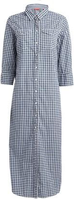 Denimist Gingham Cotton Shirt Dress