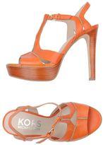 KORS Platform sandals