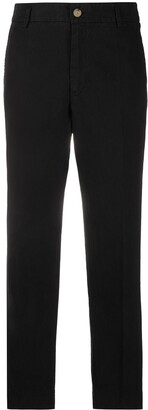 Forte Forte Mid-Rise Cropped Trousers