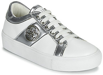 GUESS JEWEL girls's Shoes (Trainers) in White