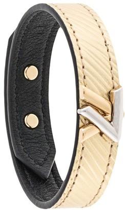Louis Vuitton Pre-Owned engraved twist bracelet