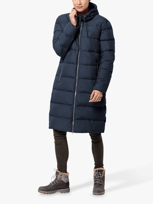 Jack Wolfskin Crystal Palace Women's Long Water Resistant Jacket