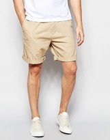 Lacoste Chino Shorts in Tan Regular Classic Fit