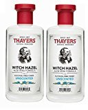 Thayer Alcohol-free Unscented Witch Hazel and Aloe Vera Formula Toner 12 oz. (Pack of 2)