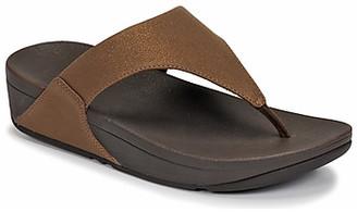 FitFlop LULU SHIMMER women's Sandals in Brown