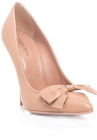 Bottega Veneta Bow detail court shoes