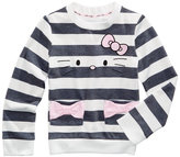 Hello Kitty Striped Long-Sleeve T-Shirt, Little Girls (4-6X)