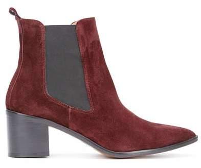 Mint Velvet Jenni Burgundy Ankle Boots