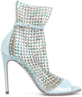 Rene Caovilla Galaxia rhinestone-embellished sandals
