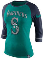 Nike Women's Seattle Mariners Tri Raglan T-Shirt