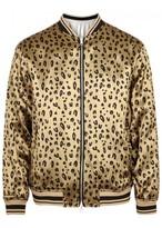 3.1 Phillip Lim Leopard-print Reversible Satin Jacket