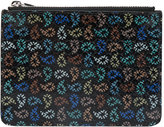 Paul Smith textured tear drop print zipped wallet - men - Calf Leather - One Size
