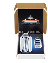 Gillette Fusion Bundle with Manual Razor Blades and Handle