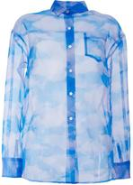 Taro Horiuchi loose fit cloud shirt