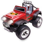 Bed Bath & Beyond Remote Control Off-Road Safari Vehicle - Red Stickers