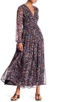 IRO Kimmie Print Silk Maxi Dress
