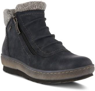 Spring Step Side Zip Booties - Cleora