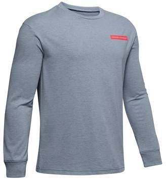 Under Armour Back Branded Long Sleeve Shirt (Little Boys & Big Boys)