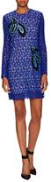 Mary Katrantzou Kelly Lace Embroidered Mini Dress