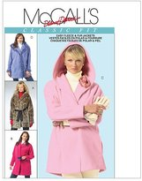 Mccall's M4975 Misses' Lined and Unlined Jackets and Flower, Size XZ (XLG-XXL) by