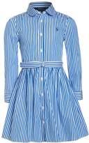 Polo Ralph Lauren BENGAL DRESSES Dress blue/white