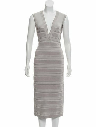 Alaia Sleeveless Sheath Dress