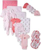 Gerber Baby Girls 19 Piece Essentials Gift Set