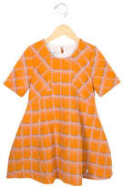 Christian Dior Girls' Printed Wool Dress w/ Tags