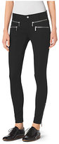 Michael Kors Zip-Pocket Stretch-Twill Skinny Jeans