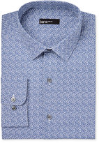 Bar III Men's Slim-Fit Navy Cromwell Floral Print Dress Shirt, Only at Macy's