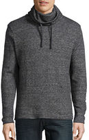 HUGO BOSS Heathered Cowlneck Sweatshirt