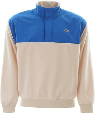 Lacoste Colour Block Dual-material Sweatshirt