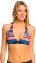 Oakley Women's Pacific Stripe Halter Bikini Top 8137162