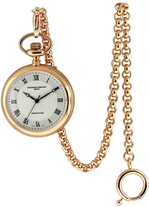 Frederique Constant Unisex Stainless Steel Pocket Watch