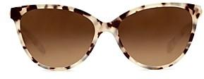 Krewe Women's Monroe 24K Cat Eye Sunglasses, 58mm