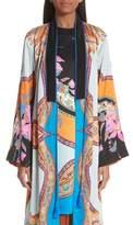 Etro Lily Print Kimono Jacket