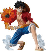 Asstd National Brand One Piece Attack Styling 3 Bros Flame Luffy Figure