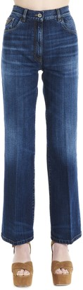 Prada Wide Leg Jeans
